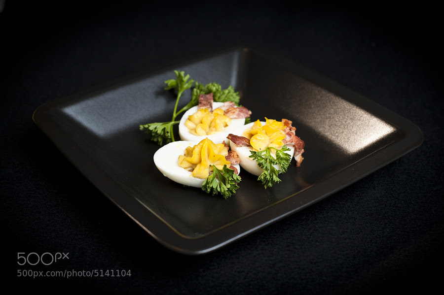Balsamic Bacon Devilled Eggs - 1 by Jay Scott (jayscottphotography)) on 500px.com