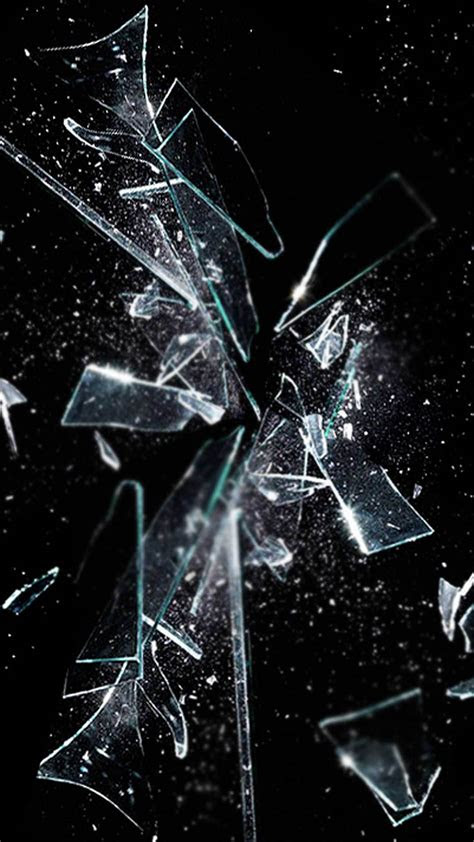 full size broken screen wallpaper iphone