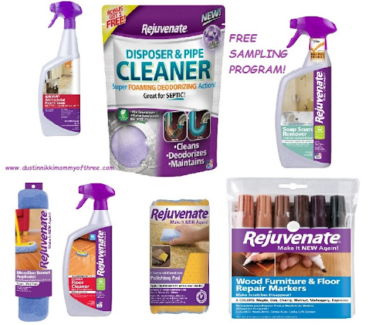 FREE Rejuvenate Cleaning Product #free « DustinNikki Mommy of Three