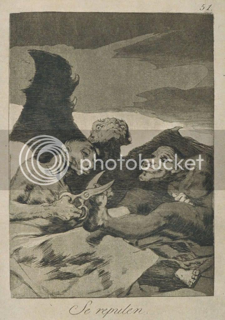 Goya, Caprichos, 1799