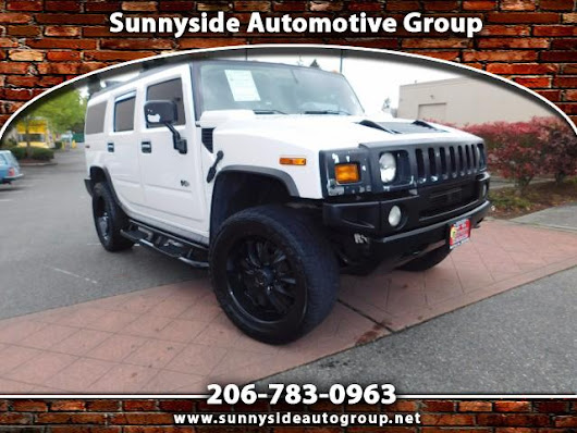 Used 2003 HUMMER H2 Sport Utility for Sale in Seattle WA 98133 Sunnyside Automotive Group