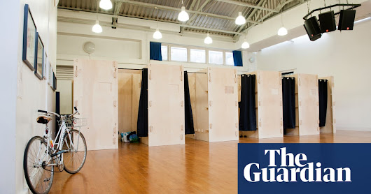 Wooden sleeping pods offer privacy to London's homeless | Society | The Guardian