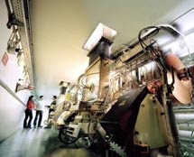 Estación científica del interior del sincrotrón. /ESRF
