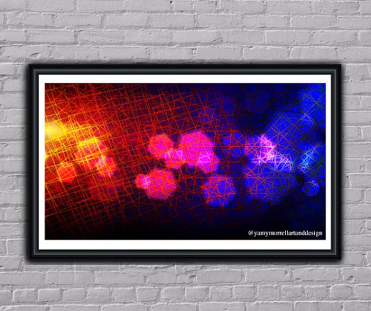 Giclée Abstract Fine Art Print-Multicolor print-Wall