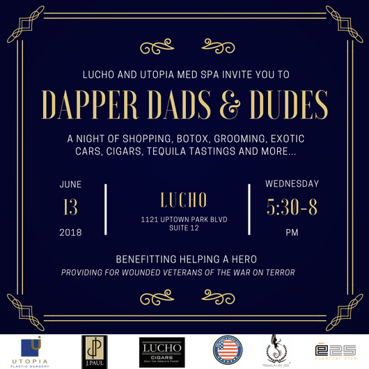 Cars, Cigars & MORE: A Gentlemen's Night Out in Uptown Park with Lucho & Utopia - Franklin Rose, MD