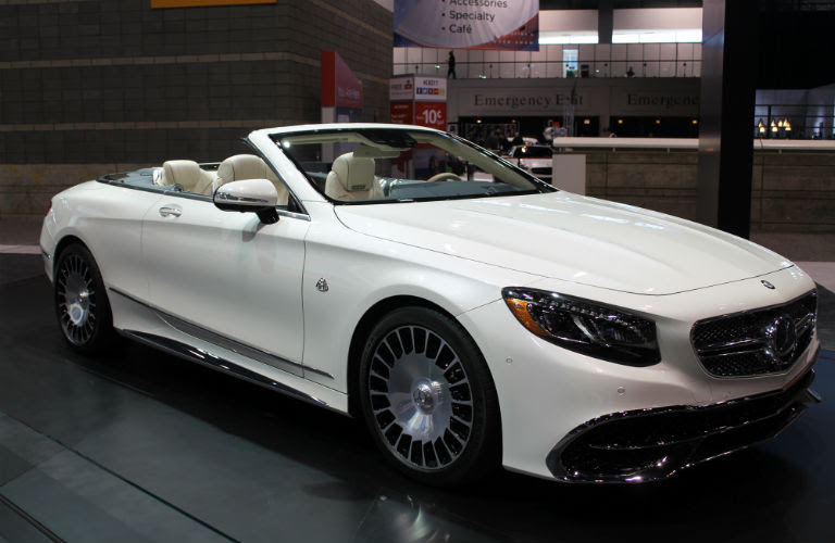 First look at the Mercedes-Benz Maybach S650 Cabriolet