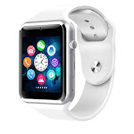 COXANG Smart Watch A1 For Children Kids Men 2G Sim Card Watch Phone With Camera Touch Screen Waterpoof Smart Clock A1 Smartwatch White / China