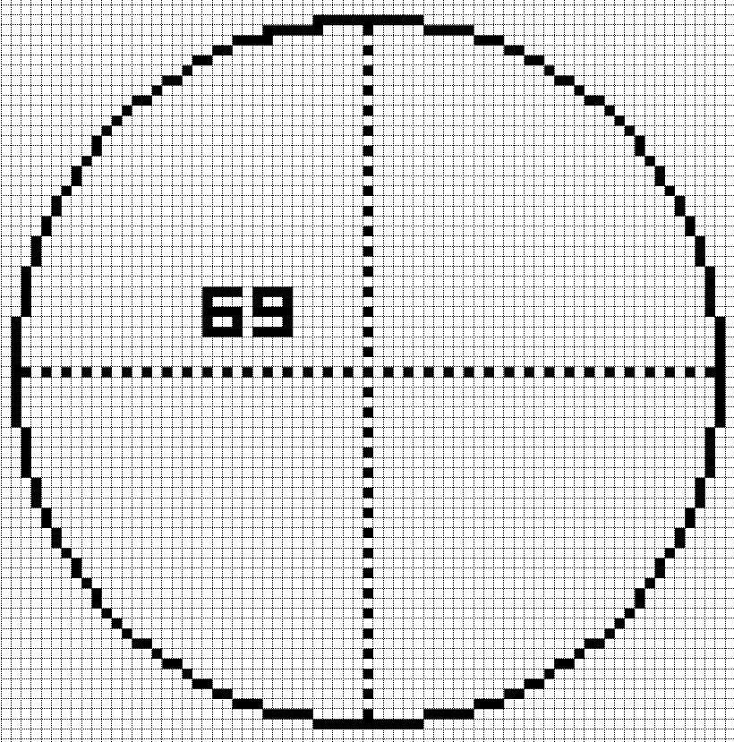 Minecraft Circle Guide Generator - Harbolnas j