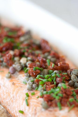 Grilled salmon in balsamic marinade / Grillitud lõhe palsamiäädikamarinaadis