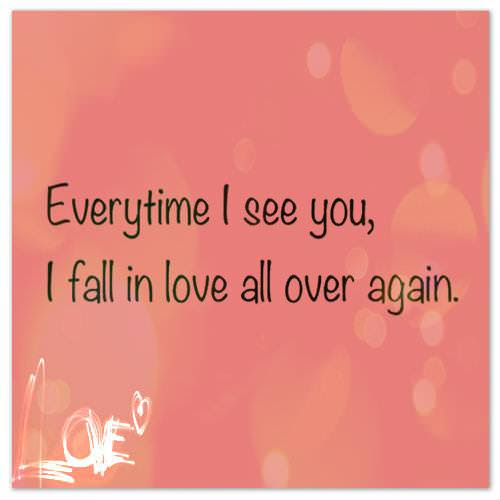 Falling In Love With You Again Poems Free Love Quotes