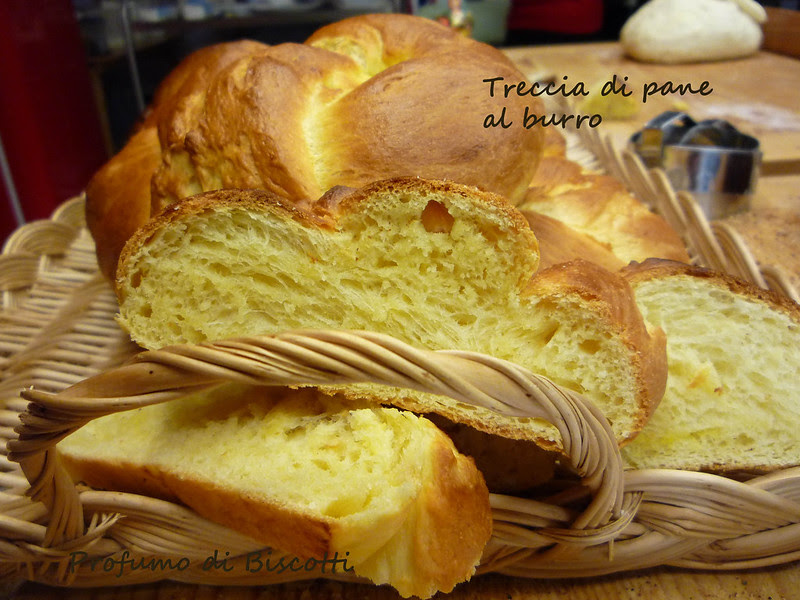 treccia pane al burro