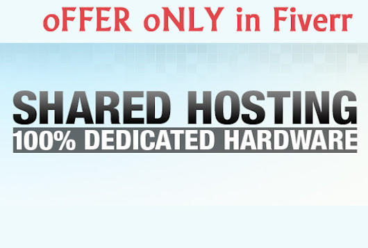 give shared hosting for 1 year - fiverr