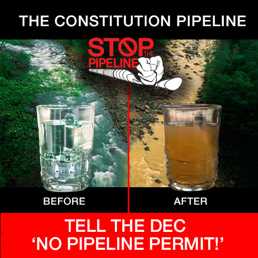 Tell DEC to Stop The Pipeline