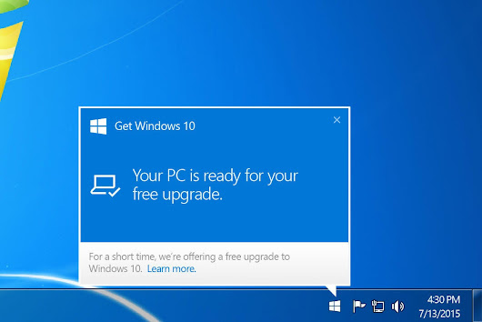 Microsoft says it will stop pestering users to 'Get Windows 10' in July