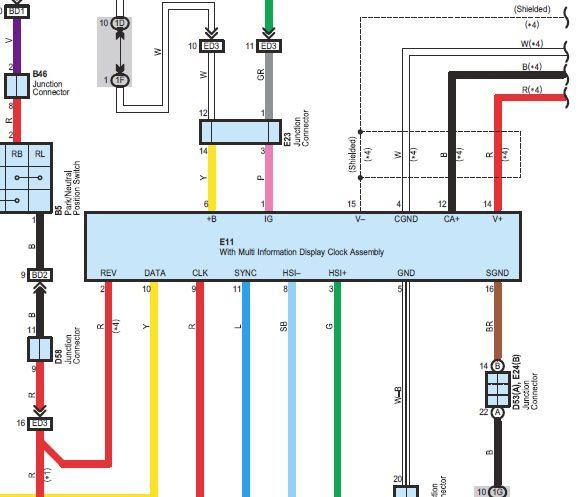 Toyota Tundra Backup Camera Wiring Diagram
