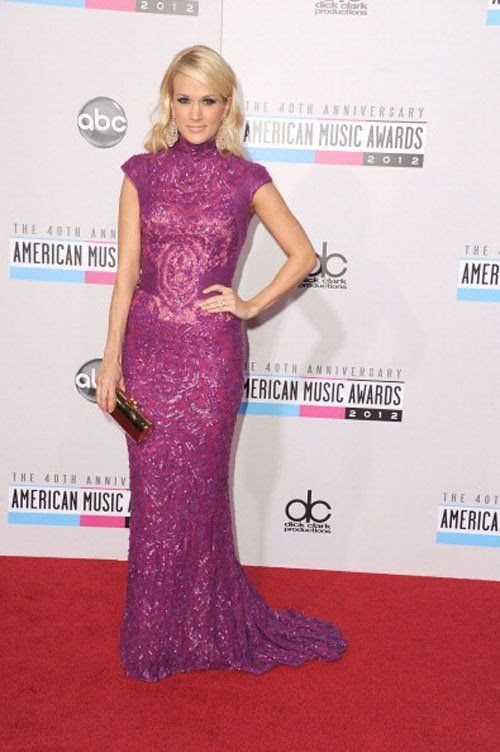 40th American Music Awards - November 18, 2012, Carrie Underwood