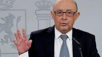 El ministre d'Hisenda espanyol, Cristóbal Montoro (EFE)