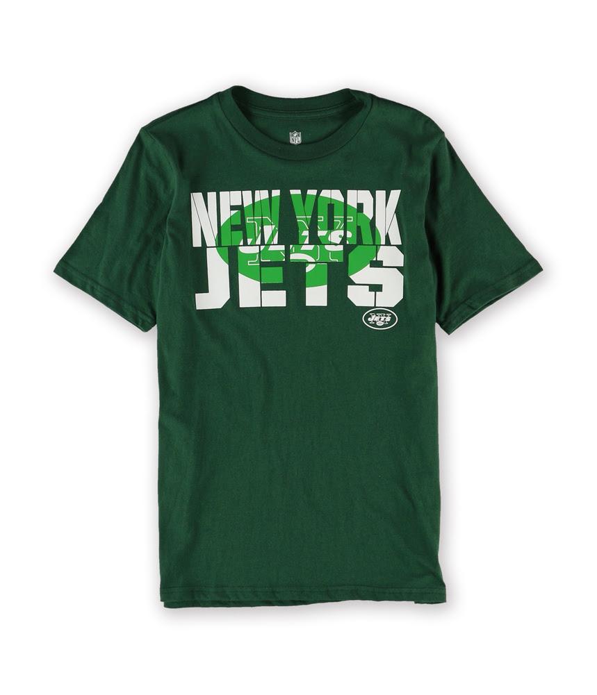 NFL Team Apparel Boys 2013 New York Jets Graphic TShirt jetsgreen L  eBay