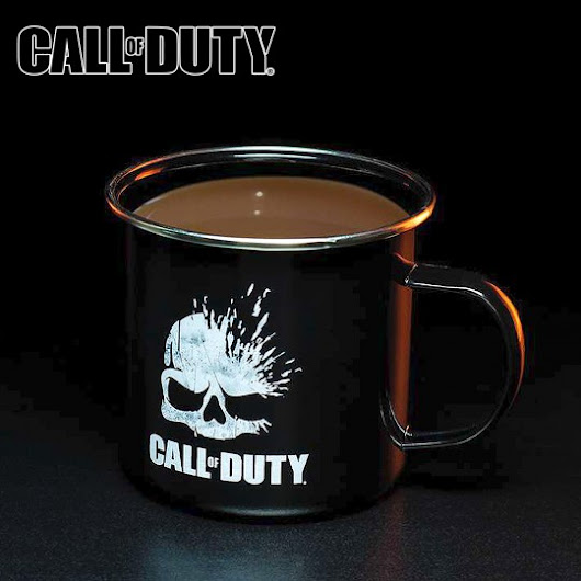 Cadeau gamer, Mug métal Call Of Duty à 10,95 €