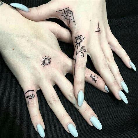 cute finger tattoos designs ideas