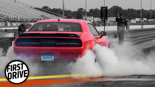 The 2018 Dodge Challenger SRT Demon Lives Up To The Hype With Violent Speed
