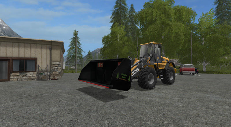 Fs17 Wheel Loader Bucket Mods, Universal Leichtgutschaufel Wheel Loaders Telelader V, Fs17 Wheel Loader Bucket Mods