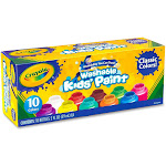 Crayola Kids' Washable Paint - 10 pack, 2 fl oz bottles