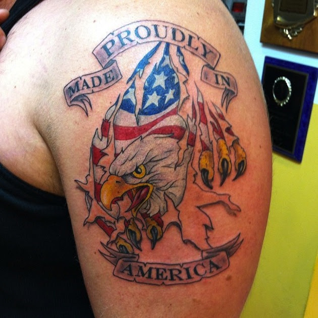 Country Tattoo Images Designs