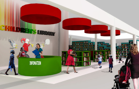 Bellville Children's Library Phase 1 completed - Tsai Design Studio