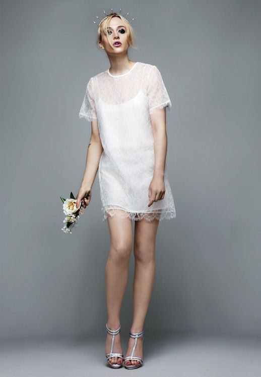 20 Alternative Wedding Looks Richard Nicoll Bridal Topshop Sheer Lace Mini Dress Non-Traditional Bride photo 20-Alternative-Wedding-Looks-Richard-Nicoll-Bridal-Topshop-Sheer-Lace-Mini-Dress.jpg