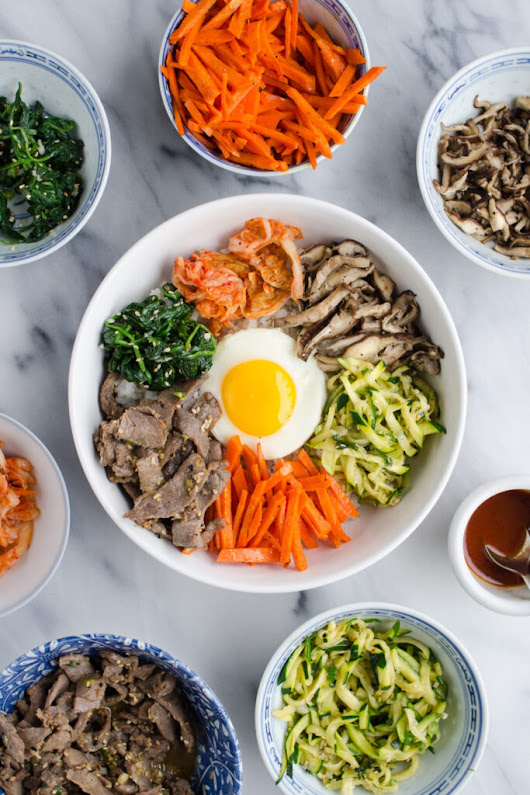 Bibimbap (비빔밥) - Korean Mixed Rice Recipe - Buttered Side Up