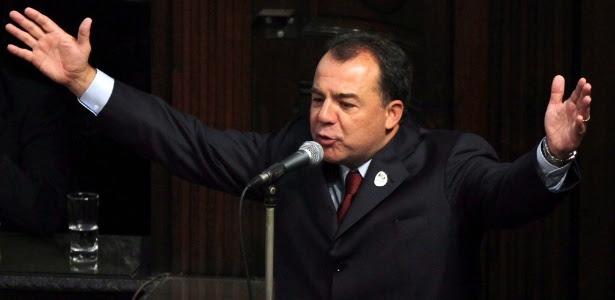 Ex-governador do Rio de Janeiro Sérgio Cabral foi preso em seu apartamento
