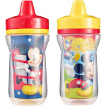 First Years Sippy Cups, Insulated, Disney Mickey Mouse Clubhouse, 9M+ - 2 cups