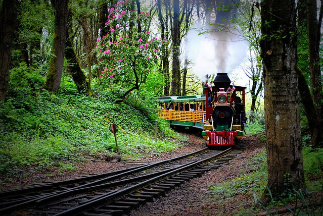 The train to the Oregon Zoo - Washington Park