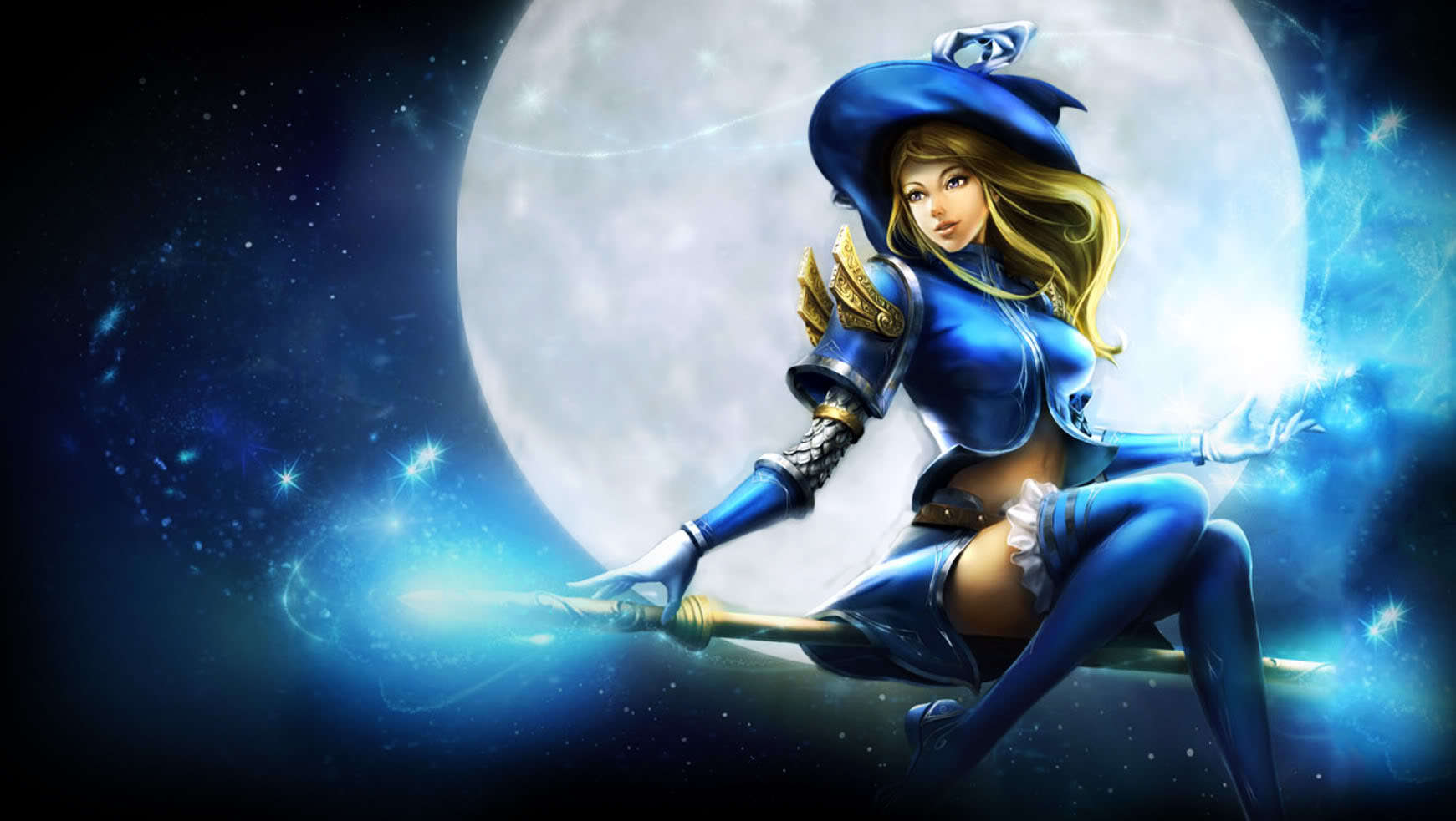 Sorceress Lux League Of Legends Wallpaper 36235121 Fanpop