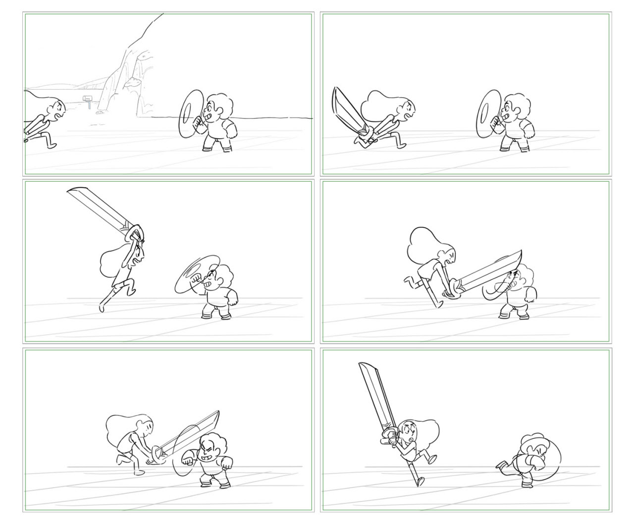 """Some boards from """"Crack the Whip"""""""