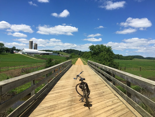 Touring the Midwest on a Bike - JohnVantine.com