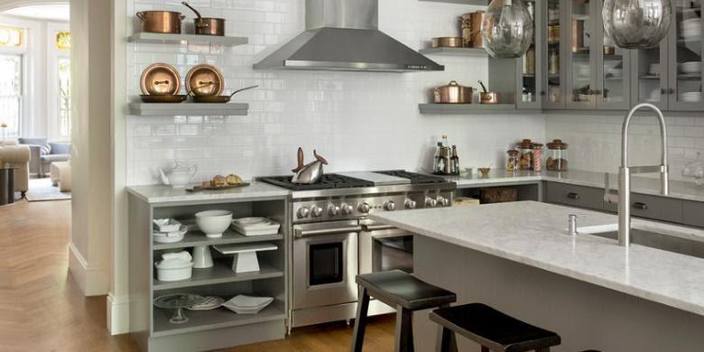 Begini Tata  Letak Dapur  yang Efisien Kompas com