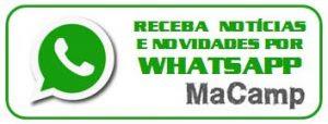 Novidades do Campismo – MaCamp no Seu Whatsapp