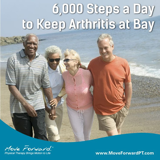 Walking 6,000 Steps a Day May Improve Knee Arthritis