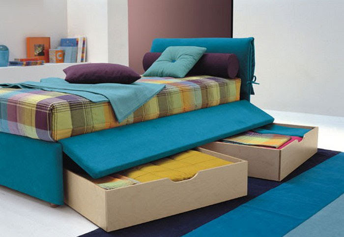 Practical Single Bed for Kids and Teen Room Designs | Kidsomania