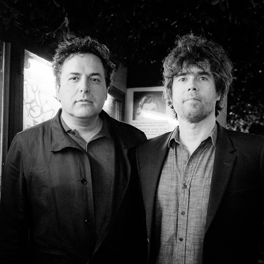 Tom Scharpling and Jon Wurster at Silent Movie Theatre