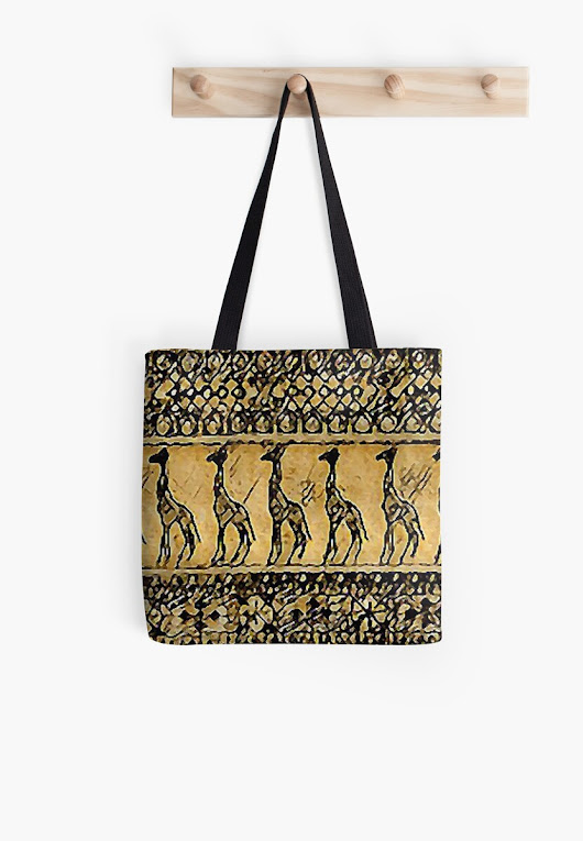 """Jungle Exodus"" Tote Bags by MijizaCreations 