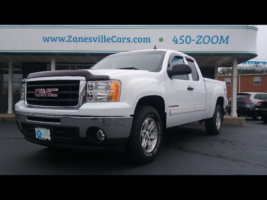 2008 Gmc Sierra 1500 SLE Ext. Cab 4WD Z71 for sale at Car Nation | Used Cars Zanesville