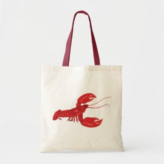 Red Lobster Tote Bag