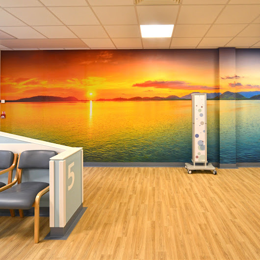 Hospital Wall Mural for Royal Bournemouth Hospital | C/S UK