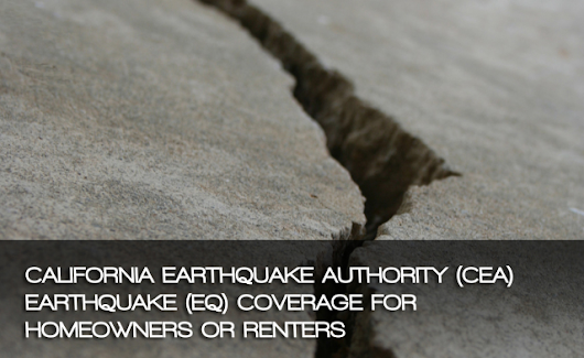 Earthquake Insurance - Affordable Plans Available In California