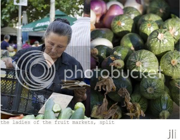 fruit market, split