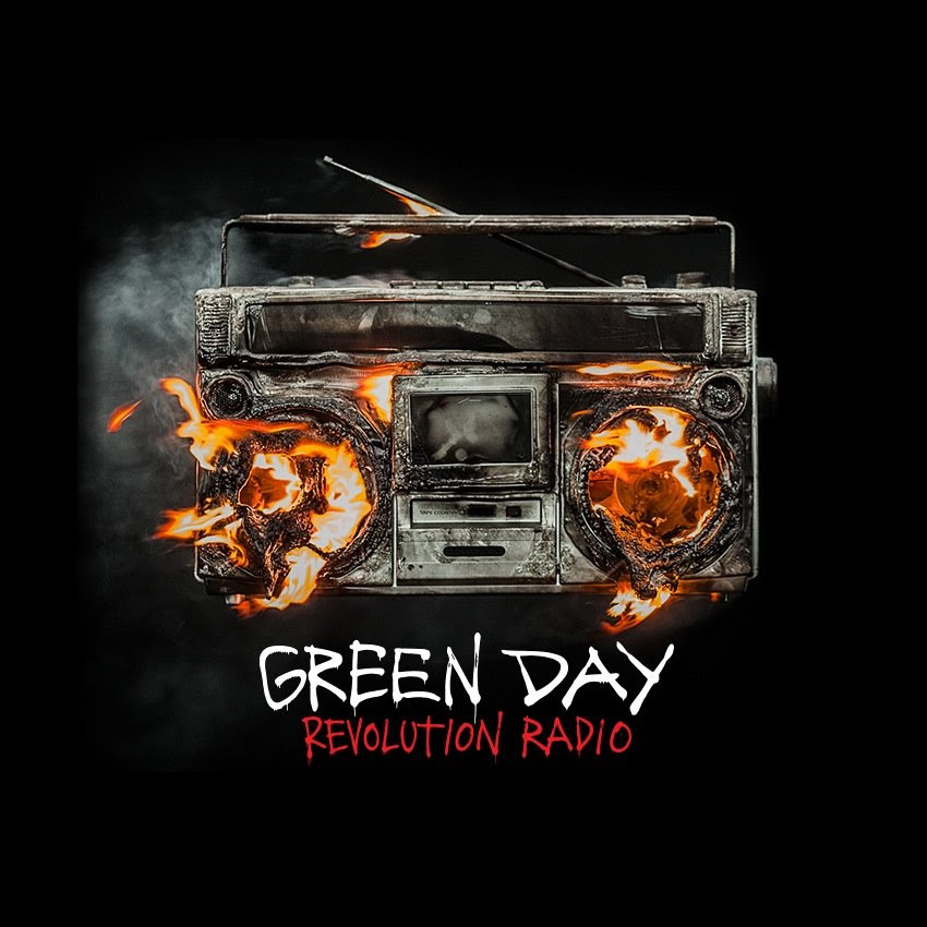 Billedresultat for green day revolution radio