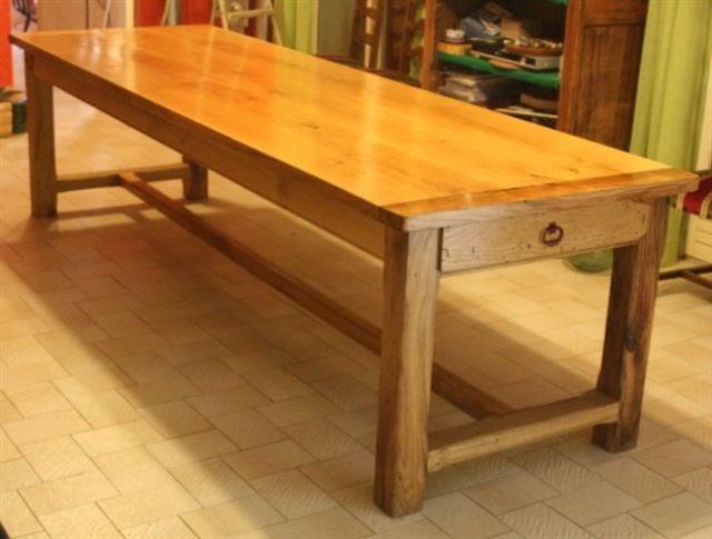 Mobili su misura arredamenti su misura di qualit tavoli su misura firenze falegnameria tavoli - Costruire tavolo legno rustico ...